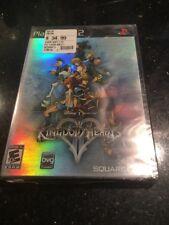 Kingdom Hearts II PS2 Original Black Brand new Factory sealed Ripped Bottom