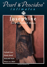 """""""Josephine"""" Sheer Baby Doll Lace Dress or Skirt"""