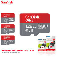 SanDisk Micro Sd 128GB 64GB 32GB 16GB 98mb/s TF Usb Flash Memory Card Microsd