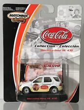 Matchbox Coca Cola Collection Mercedes ML 430 The Pause That Refreshes Rare Coke