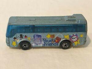 Blues Clues Diecast Bus 1986 Ikarus Coach Collectible Nick Jr Matchbox Mattel