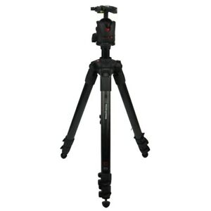 Manfrotto Camera Mount Magnesium & Carbon Tripod 057C3 3 Beinsegmente MH057M0-Q5