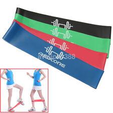 4Pcs Elastic Resistance Bands Tube Loop For Yoga Fitness Legs Strength Training