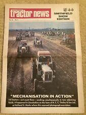 David Brown Tractor News December Smithfield Selectamatic 770 880 990 DB 4WD