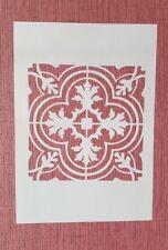 2278 Schablonen Muster Wandtattoos Airbrush Leinwand Textilgestaltung Stencil