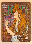 Job Cigarettes Woman French Nouveau France Vintage Advertisement Art Poster