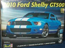 REVELL PLASTIC FORD SHELBY MUSTANG GT500 FB  MODEL KIT 1/12 SKILL LEVEL 3