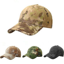 Fashion Adjustable Men Camouflage Military Camo Hunting Fishing Baseball Cap
