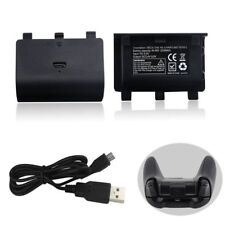 New NI-MH 2400MAHCharger Kit Rechargeable Battery Pack + USB Cable For Xbox One