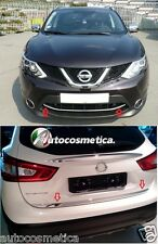 modanature acciaio cromo portabagagli+ paraurto anter. per Nissan Qashqai 14-17
