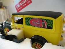 "DANBURY MINT 1931 FORD MODEL ""A"" COCA COLA DELIVERY TRUCK 1:24 SCALE"