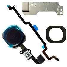 5 parte Negro Boton Home Flex Cable Asamblea parte arreglar Para Iphone 6 Plus