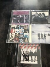 U2 Joshua Tree Unforgettable Fire Achtung Baby Atomic Bomb Leave Behind 5 CD Lot