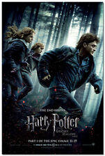 Harry Potter and the Deathly Hallows Movie Art Silk Poster 24x36inch 005