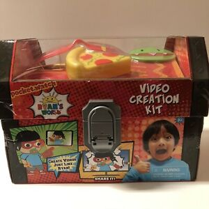 Ryan's World -VIDEO CREATION KIT NEW 2019 YouTube Trunk
