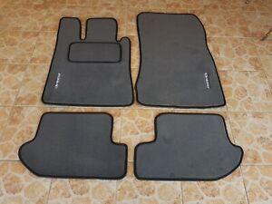 2000-2006 Mercedes-Benz W215 CL55 AMG Floor mat mats CL500 CL600 dark grey