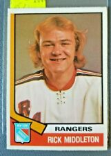 1974-75 O-Pee-Chee #304 Rick Middleton ROOKIE CARD**FREE COMBINED SHIP**R2044