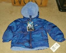 Zeroxposur Toddler Boys Hooded Jacket 24M Nwt Msrp $50 Navy Blue J10461