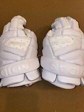 $130 Adidas Freak Flex G Lacrosse Lax Climacool Gloves Size 12 White CF9665 NEW!