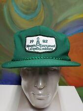 Vintage 1982 Louisiana Baseball Hat Cap Golf Snapback Lafayette Oilmen 1980's