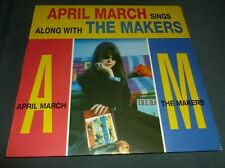 APRIL MARCH SINGS ALONG WITH THE MAKERS 33RPM LP PUNK ROCK GARAGE SFTRI SYMPATHY