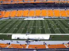 (4) Steelers vs Bengals Tickets Upper Level 50 Yard Line 10th Row!!