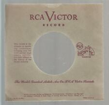 Company Sleeve 45 RCA Green w/ Marroon Lettering #1 on