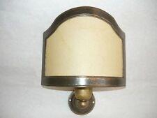 Apliques Lámpara latón baño pared ventilador apliques