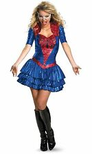 The Amazing Spider-Man Spider-Girl Sassy Deluxe Female Costume SZ 8-10 NWT 39605