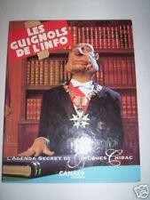 AGENDA SECRET DE JACQUES CHIRAC 1993 CANAL + EDITIONS