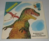 Dinosaurs Golden Look-Look Book Used Kathleen N Daly Kids Childrens Learning
