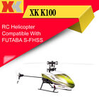 Wltoys XK 6CH 3D Remote Control Toy RC Helicopter With Transmitter FUTABA S-FHSS