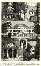 Antique print The Loo palace Apeldoorn Holland / Paleis 1887 Willenstempel