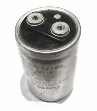 Condensateur chimique CO39 33000uF 16V SIC SAFCO                        CHC1633M