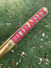 WORTH ULTRAFLEX Softball Bat Gold - 34 IN - 2 1/4 DIA - 28 OZ