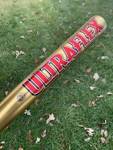 WORTH ULTRAFLEX Softball Bat Gold - 34 IN - 2 1/4 DIA - 28 OZ