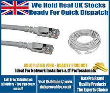 NEW 40M CAT6 RJ45 GREY Internet Ethernet Cable Lead Network Modem LAN Router SKY