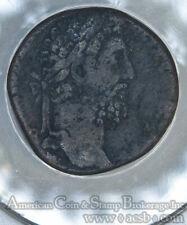 Commodus 181AD bronze Sestertius ANACS F12 RIC 563 Roman Mint
