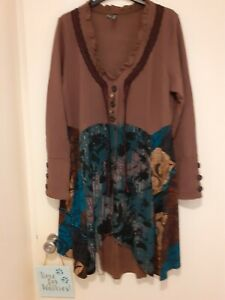 LBeautiful long length jacket NWOT sizeLarge