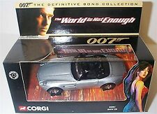 Corgi 007 bond Definitive BMW Z8 mib