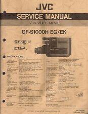 JVC Original Service Manual für GF-S 1000 H