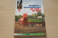 158492) Strautmann Universalstreuer VS 1204 2004 Prospekt 10/2011