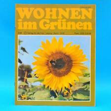 DDR Wohnen im Grünen 2/1984 Verlag für die Frau H Großposna-Oberholz Wernigerode
