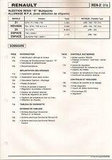 INJECTION ALLUMAGE ELECTRONIQUE : RENAULT 21 GTX NEVADA R25 ESPACE I QUADRA ...