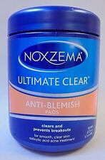 Noxzema Anti Blemish Pads Ultimate Clear Salicylic Acid 90 Pads Exp 10/17 +