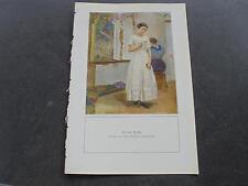 1916 Velhagen Fragment / Maler Christian Landenberger In der Kirche