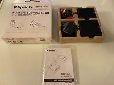 Klipsch WA-2 Wireless Subwoofer Kit - Brand New In Box - Transmitter & Receiver