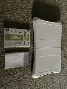 Wii Workout Bundle - Nintendo Wii Balance Board With Wii Fit Plus and Manual