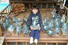 Wurzelholz Glas Vase M, Deko Glas M, Teakholz Glas, Gamal M, Wurzel Holz Liqva M