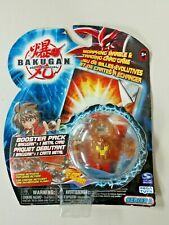 Bakugan Battle Brawlers Red Pyrus Reaper Booster Pack Series 1 & Metal Card 2007